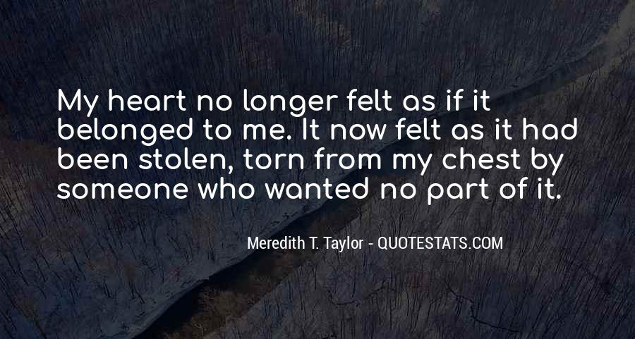 Quotes About Stolen Love #1610487