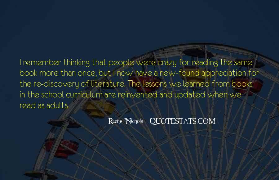 Quotes About Reading And Thinking #1003239