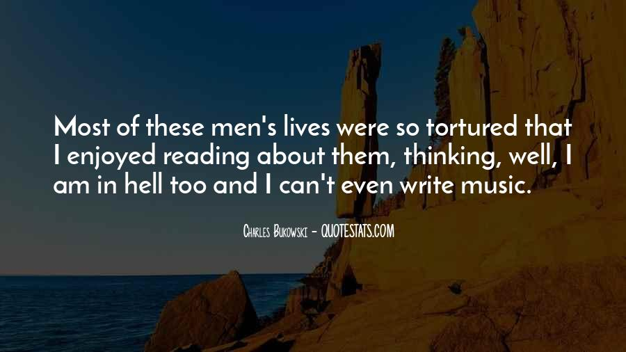 Quotes About Reading And Thinking #1113362