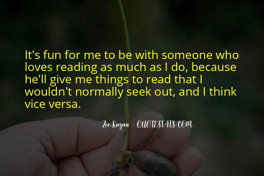 Quotes About Reading And Thinking #1136861