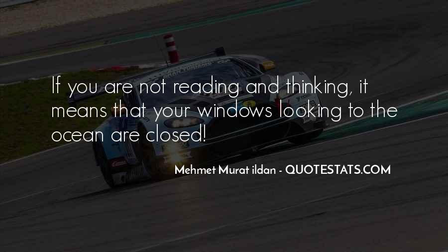 Quotes About Reading And Thinking #1228100