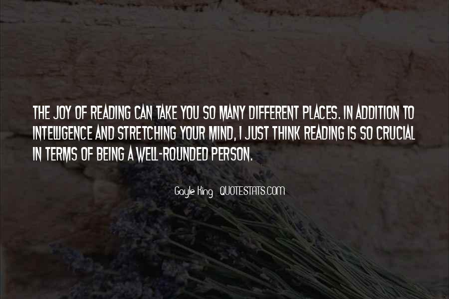 Quotes About Reading And Thinking #136636