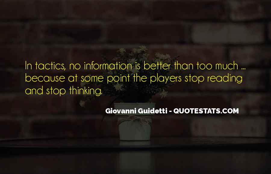 Quotes About Reading And Thinking #137481