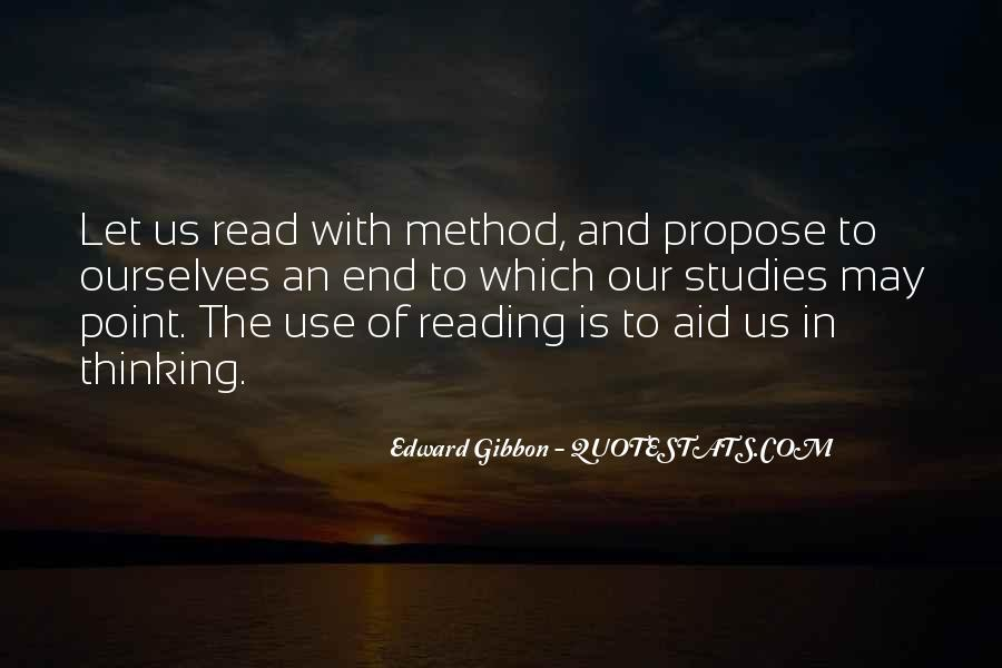 Quotes About Reading And Thinking #291984