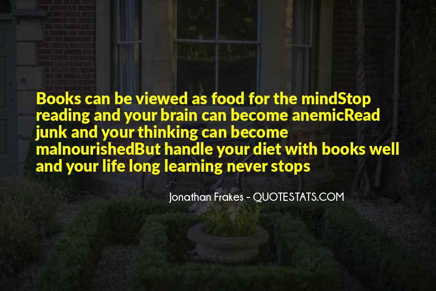 Quotes About Reading And Thinking #388377