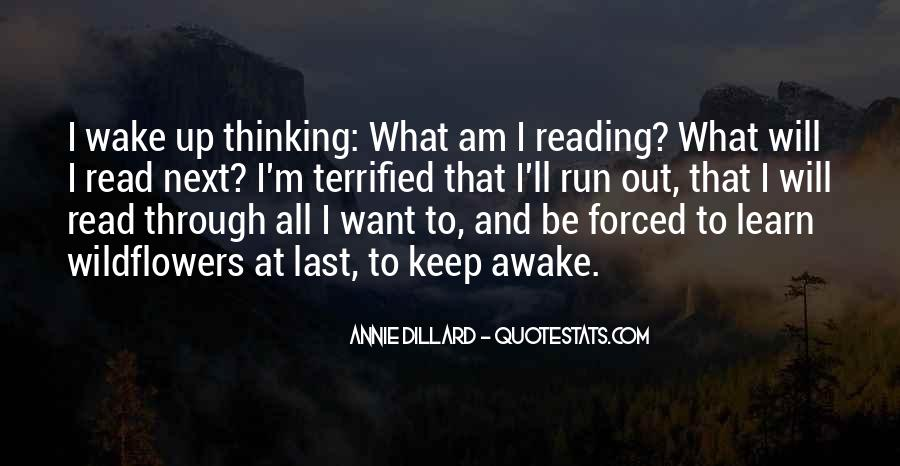 Quotes About Reading And Thinking #452852