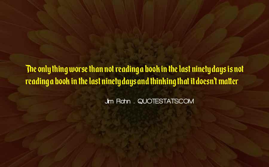 Quotes About Reading And Thinking #516685