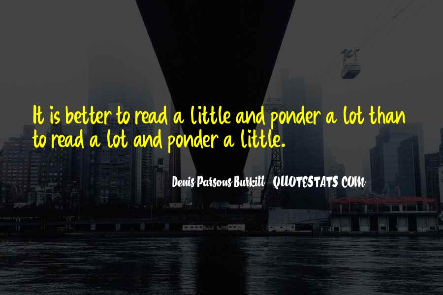Quotes About Reading And Thinking #671247