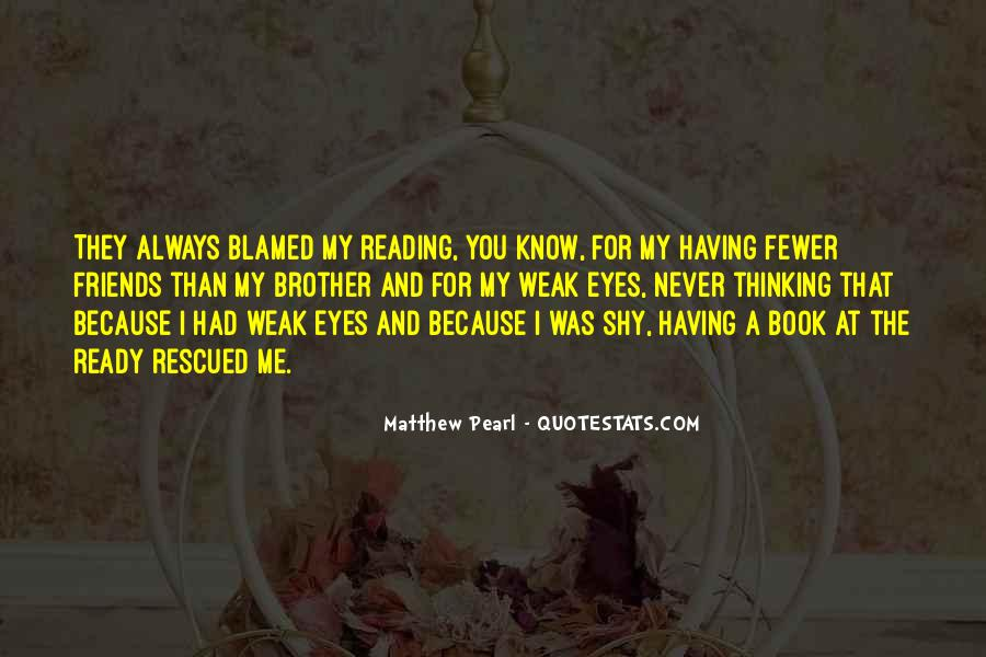 Quotes About Reading And Thinking #763759