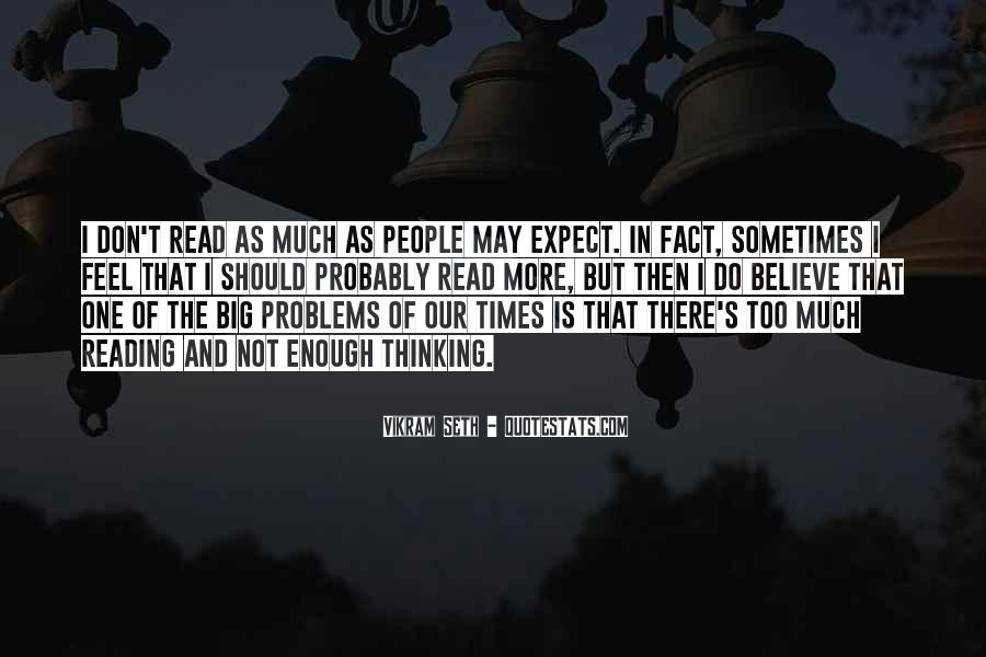 Quotes About Reading And Thinking #822102