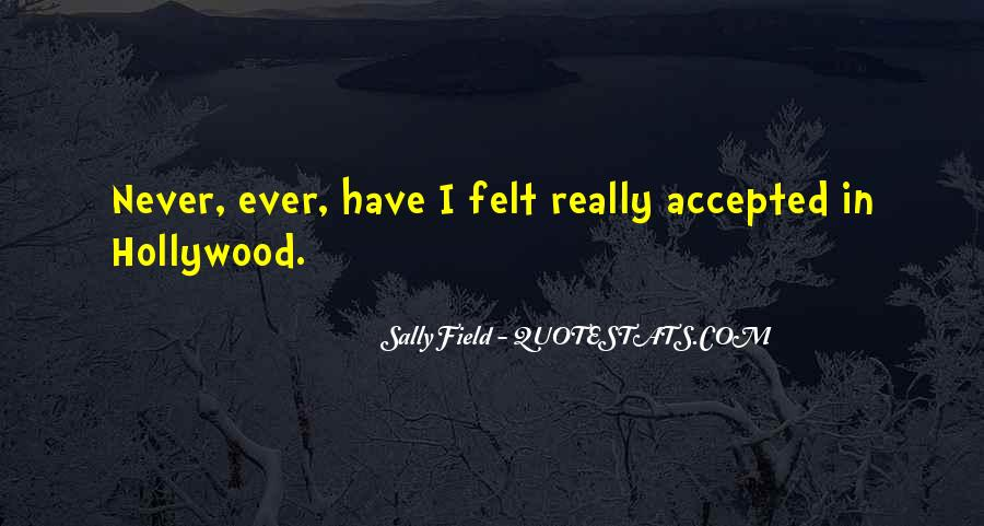 Quotes About Accepted #99172