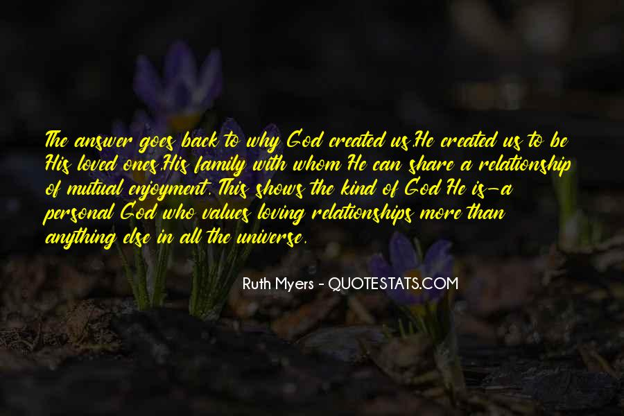 Quotes About Personal Relationships With God #13680