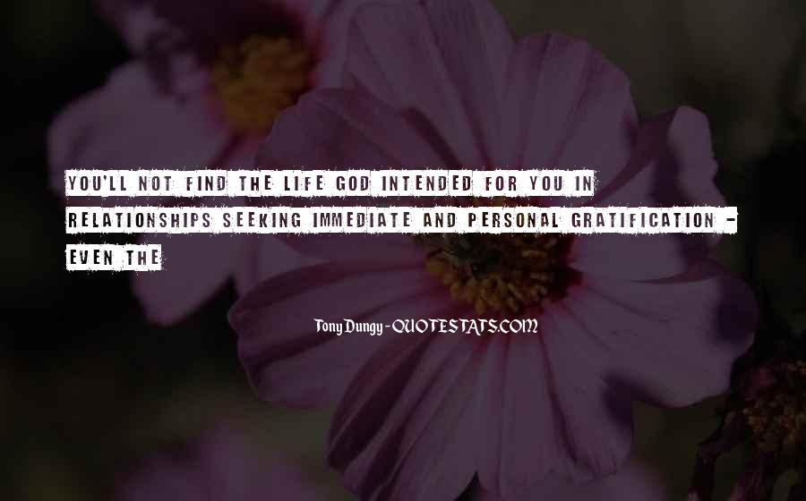 Quotes About Personal Relationships With God #934339