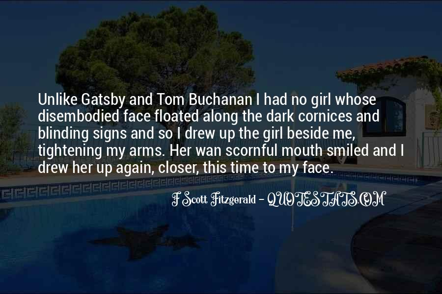 Quotes About Tom Buchanan #888118