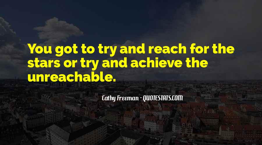 Quotes About Reach For The Stars #659963