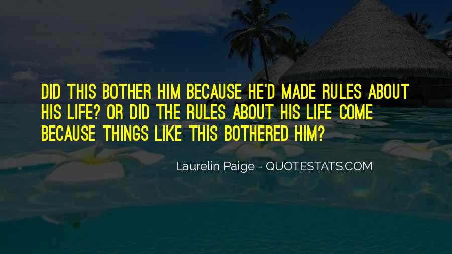 Quotes About Why Should I Bother #46014