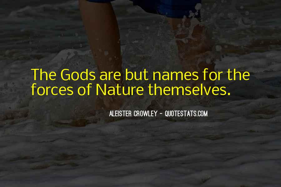 Quotes About Force Of Nature #131551
