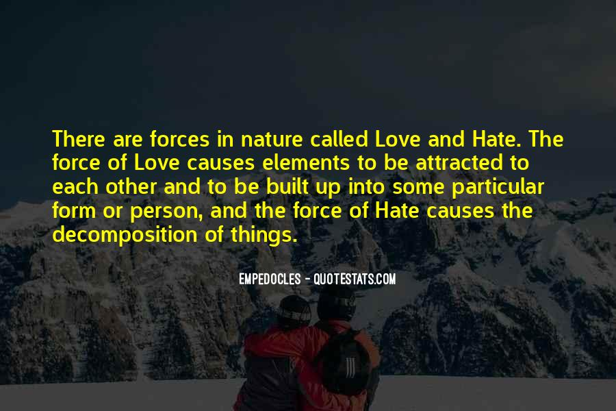 Quotes About Force Of Nature #235935