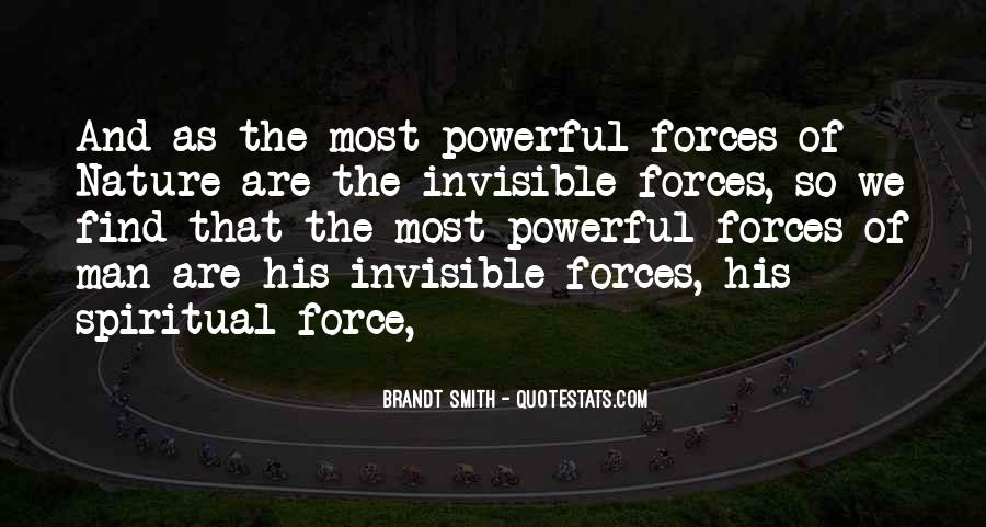 Quotes About Force Of Nature #496968