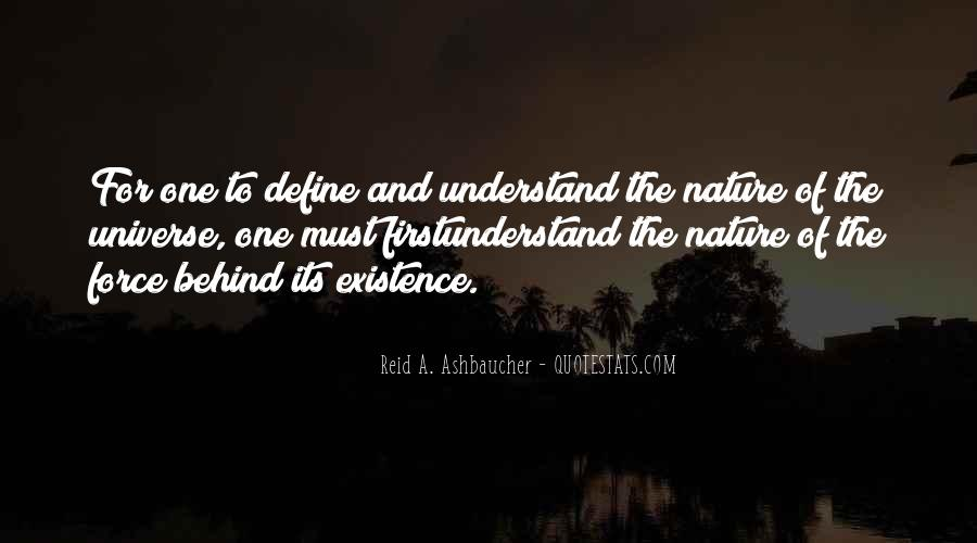 Quotes About Force Of Nature #766152