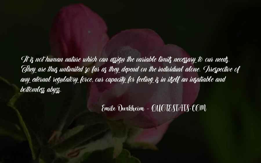 Quotes About Force Of Nature #806218