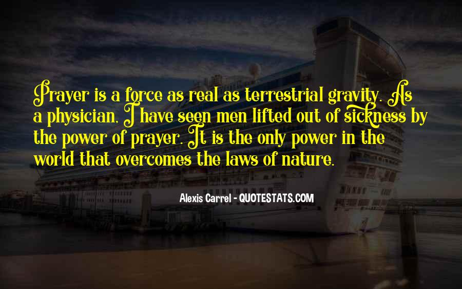 Quotes About Force Of Nature #955077