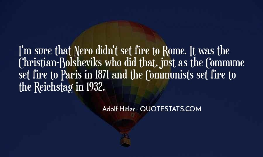 Quotes About The Reichstag Fire #914970