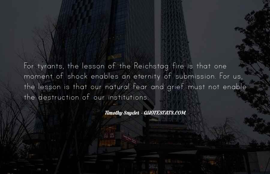 Quotes About The Reichstag Fire #935316