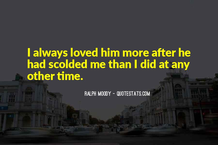 Quotes About Being Scolded #1713359