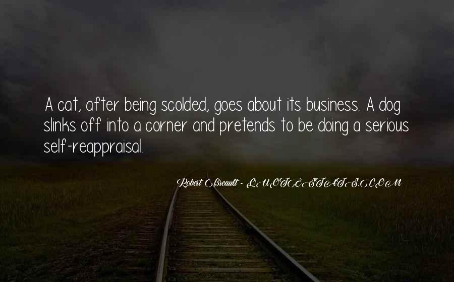 Quotes About Being Scolded #227598