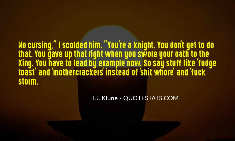 Quotes About Being Scolded #3175