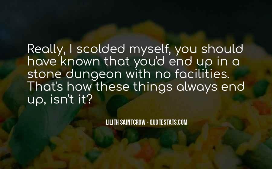 Quotes About Being Scolded #472140