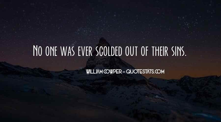 Quotes About Being Scolded #531746