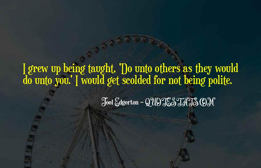 Quotes About Being Scolded #624317