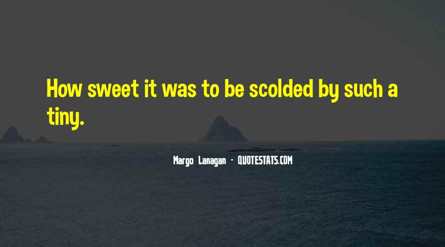 Quotes About Being Scolded #627083