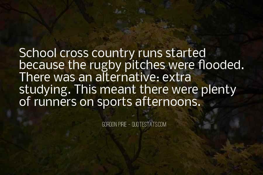 Quotes About Cross Country Runners #499246