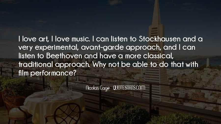 Quotes About Love Beethoven #119235