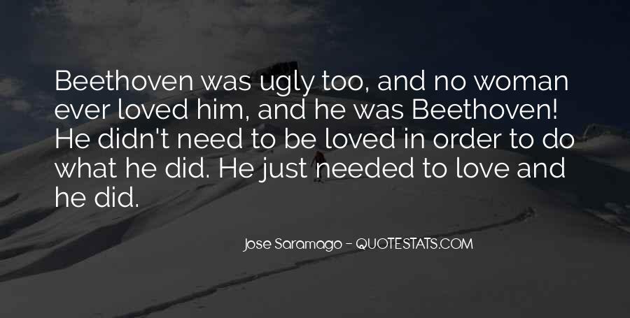 Quotes About Love Beethoven #1417687