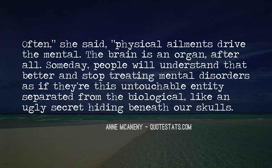 Quotes About Mental Disorders #1389781