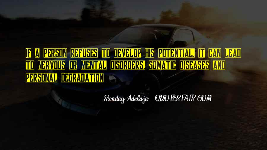 Quotes About Mental Disorders #1421726