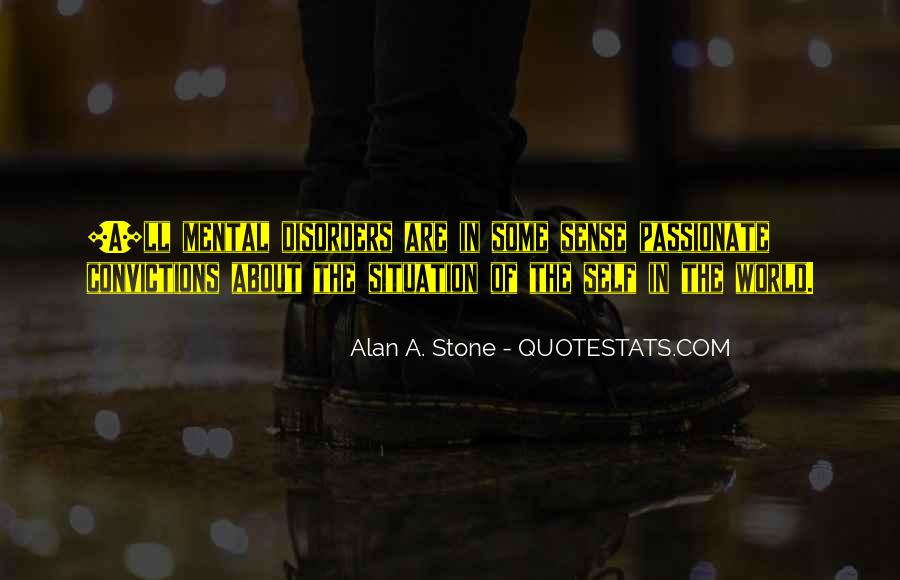 Quotes About Mental Disorders #1579570