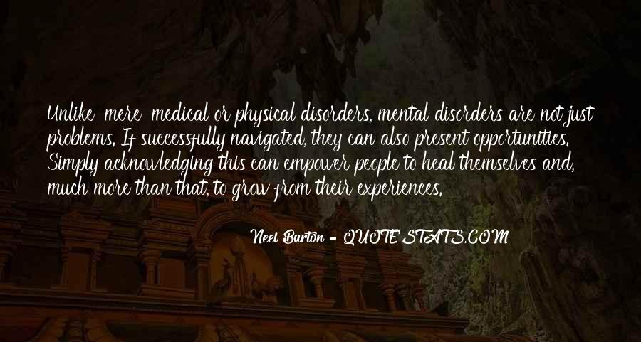 Quotes About Mental Disorders #209033