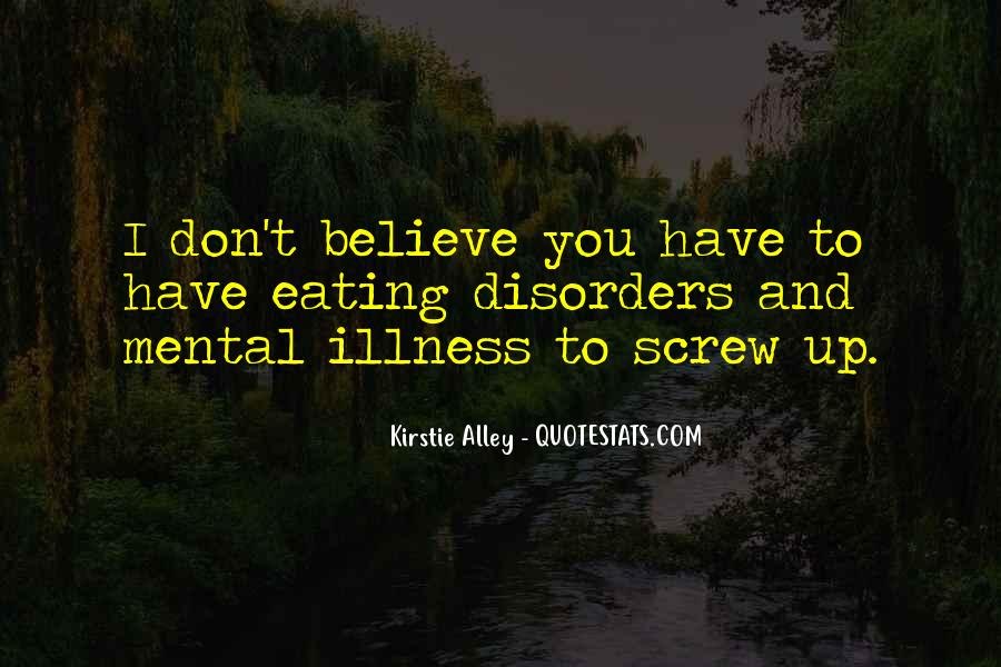 Quotes About Mental Disorders #318630
