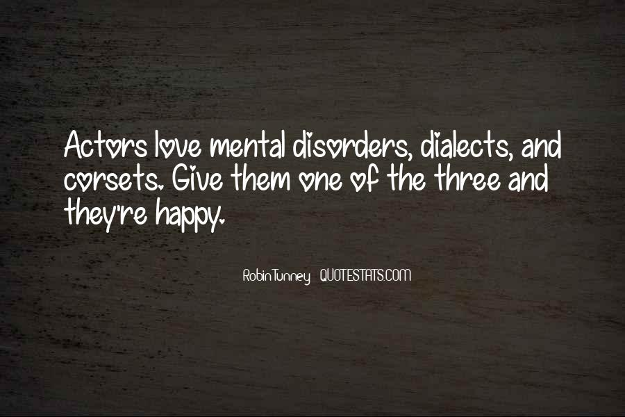 Quotes About Mental Disorders #33583