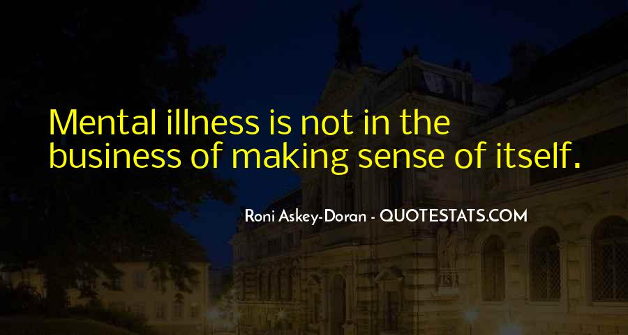Quotes About Mental Disorders #417590
