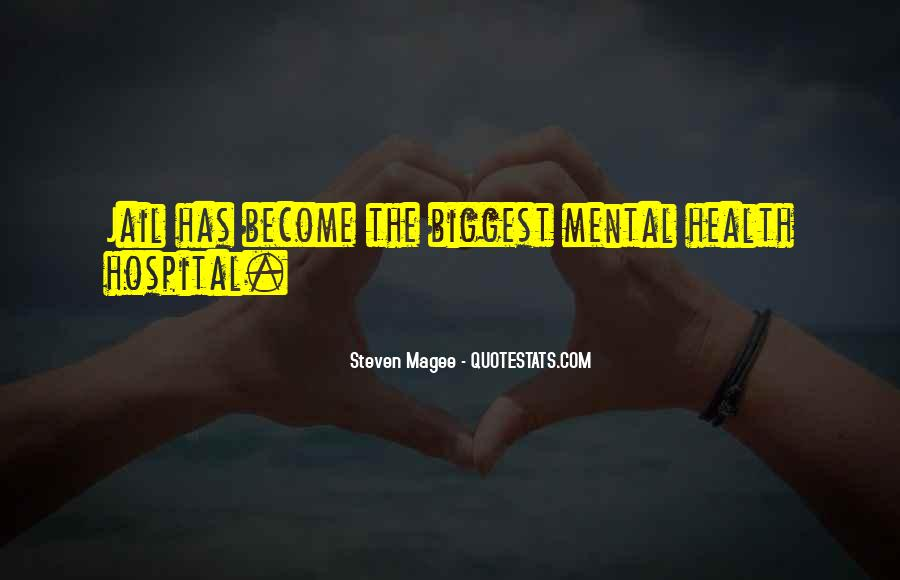 Quotes About Mental Disorders #656658