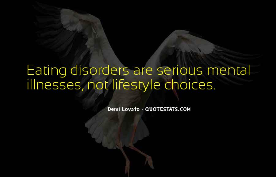 Quotes About Mental Disorders #68310
