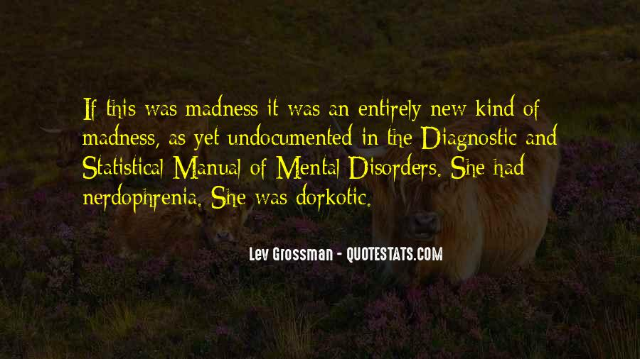 Quotes About Mental Disorders #785458