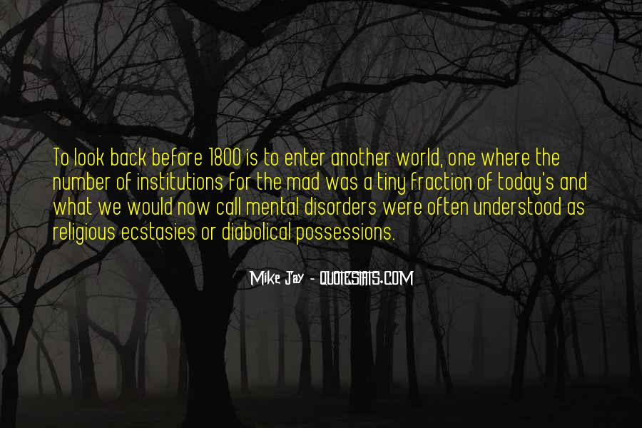 Quotes About Mental Disorders #884804