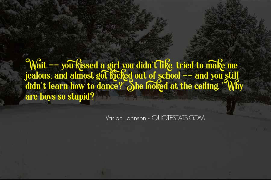 Quotes About Being Jealous Of Another Girl #867967